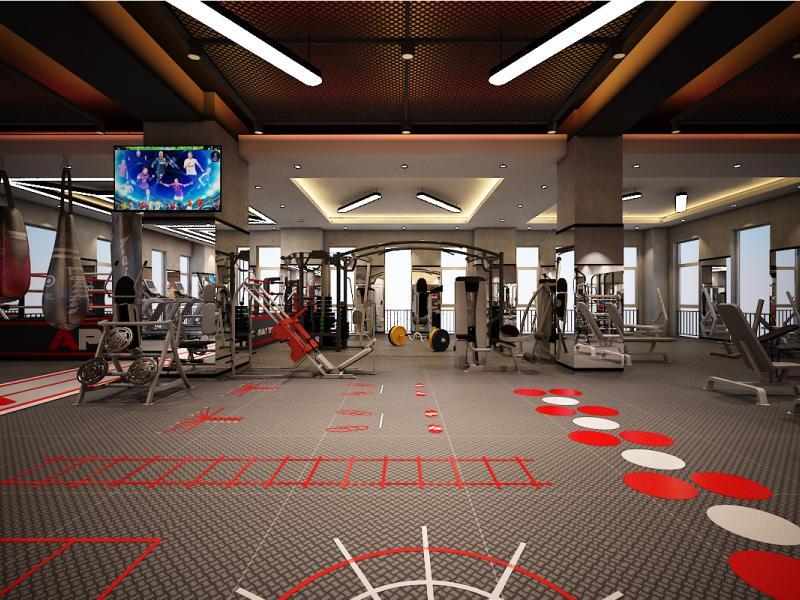Thiết kế mặt bằng xây dựng cho phòng gym