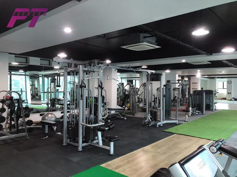 Trang thiết bị cần thiết cho phòng gym chuyên nghiệp 500tr